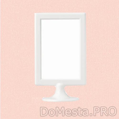 ТОЛСБИ Рама для 2 картин, белый, 10x15 см