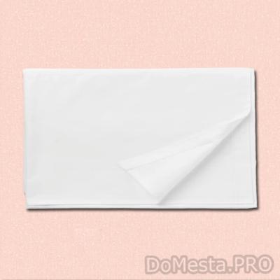 ДВАЛА Простыня, белый, 150x260 см