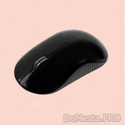 Мышь ANNEEX беспроводная черная