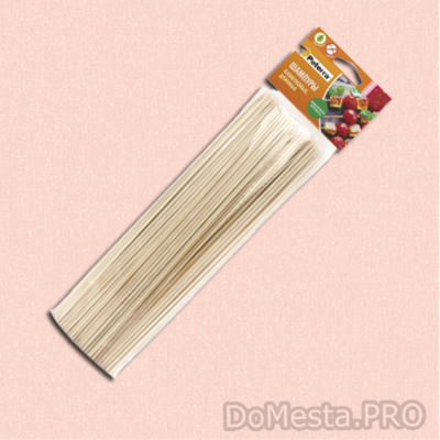 Шампуры бамбуковые  для шашлыка, спиральных чипсов 40 см, 50 шт.