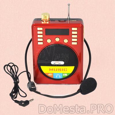 Мегафон YS- 801 -  радиоприёмник с USB, SD и микрофоном