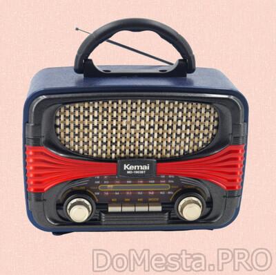 Kemai MD-1903BT аналоговый радиоприемник с Bluetooth/ USB/SD флеш проигрывателем.