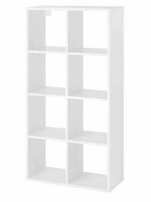 Стеллаж ФРИДЛЕВ, белый, 66x129 см