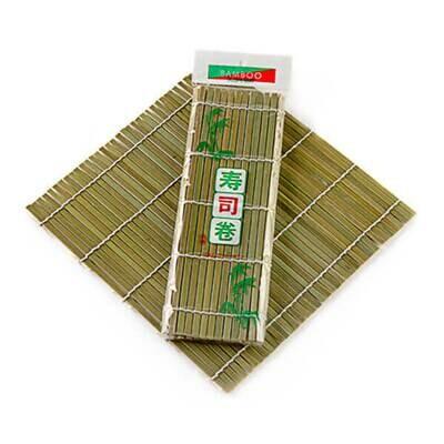 Коврик для роллов (циновка) Макису, 27*27 см, Китай