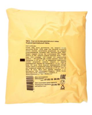 Соус на основе растительных масел оригинальный HEINZ (сырный), 1 кг.