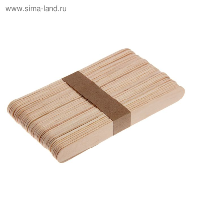 Набор палочек для мороженого 15×1,9 см, 50 шт