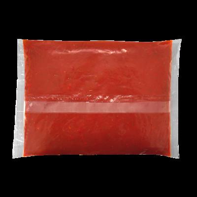 Соус HEINZ Сальса томатный жгучий, на основе растительных масел, эконом-упаковка, 1 кг.