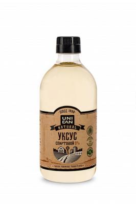 Уксус натуральный спиртовой Uni Dan 9% 500г