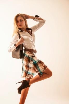 Юбка - шотландка