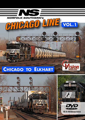 Norfolk Southern's Chicago Line, Vol. 1