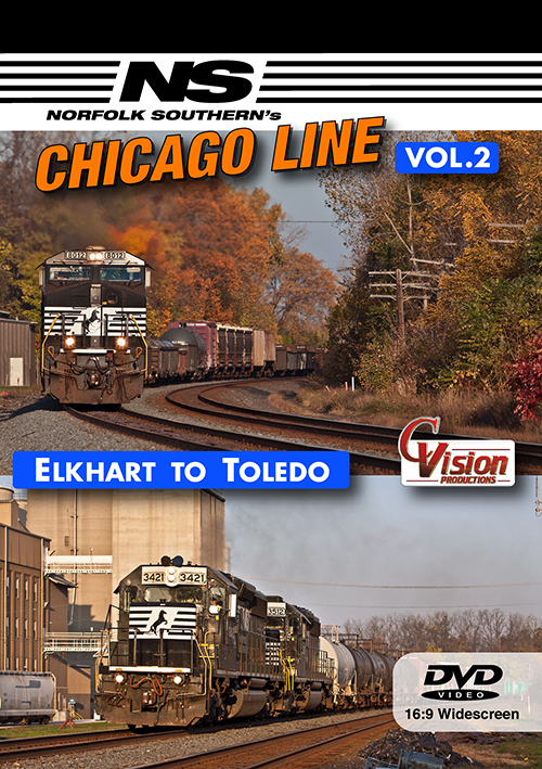 Norfolk Southern's Chicago Line, Volume 2