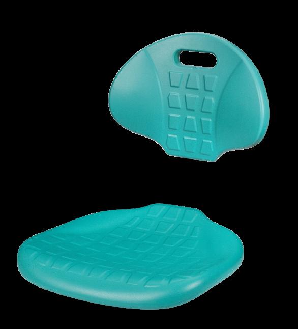 Полиуретановое сиденье и спинка