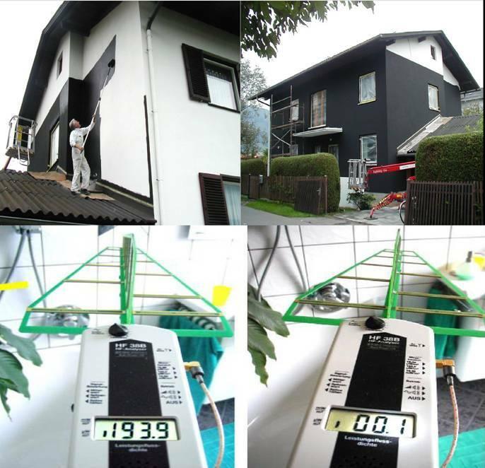 Θωράκιση κατοικίας - Μετρήσεις στο εσωτερικό πριν και μετά