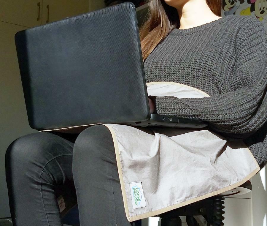 ΗΒ Wireless Belly Shield - Κάλυμμα προστασίας από ασύρματες ακτινοβολίες laptop,tablet, smartphone (Wi-Fi) κ.α.