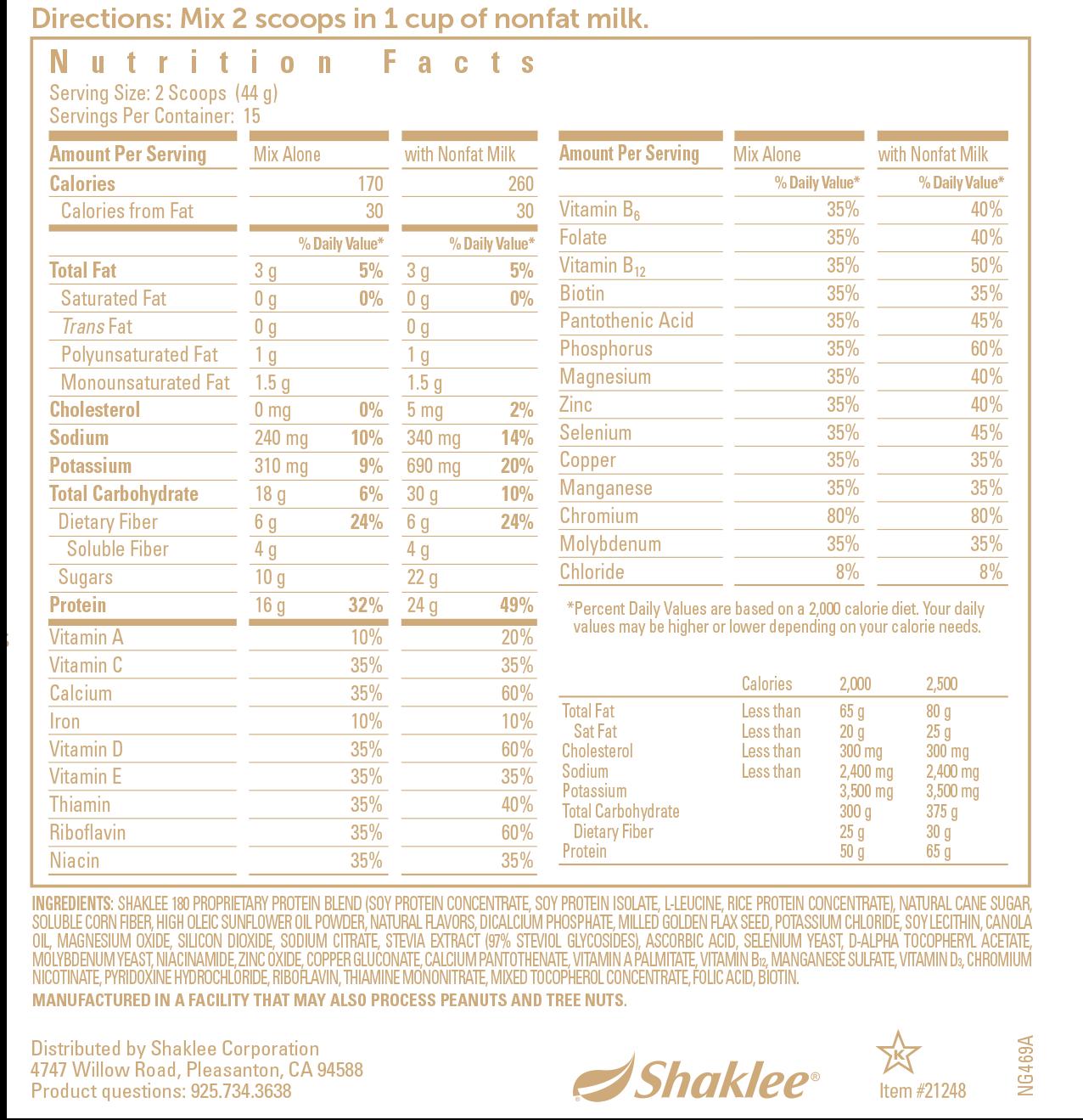 Shaklee 180 Turnaround Kit