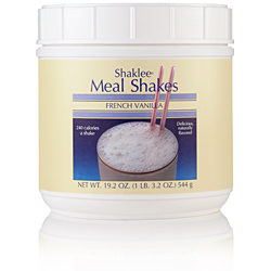 Shaklee Meal Shakes, French Vanilla 20321