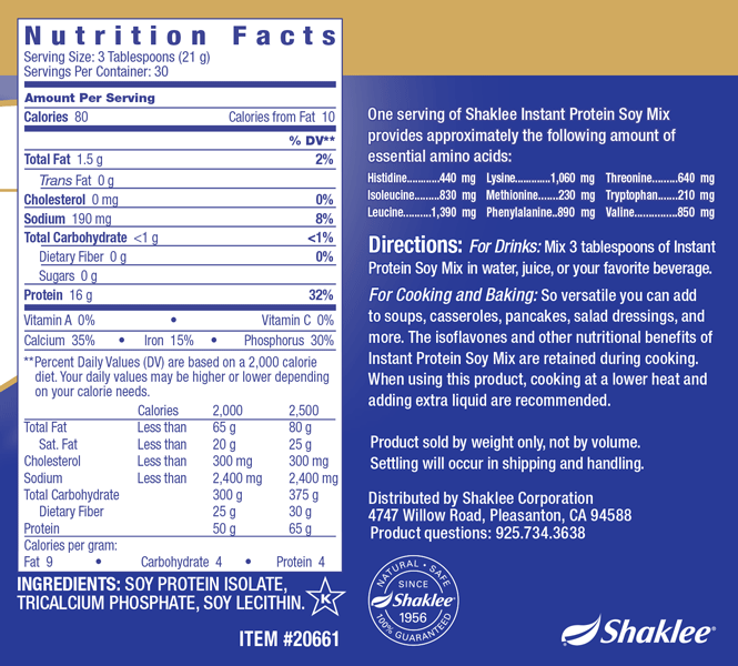 Instant Protein® Soy Mix
