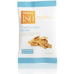 Shaklee 180 Snack Crisps, Sea Salt 22020