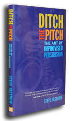 Ditch the Pitch - Hardcover Book 00040
