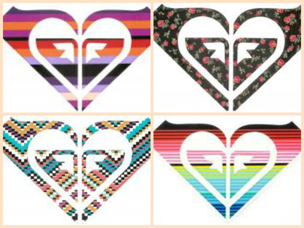 Roxy Heart Logo Sticker 65126
