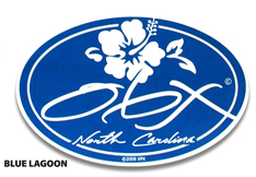 OBX Blue Lagoon Sticker 65181