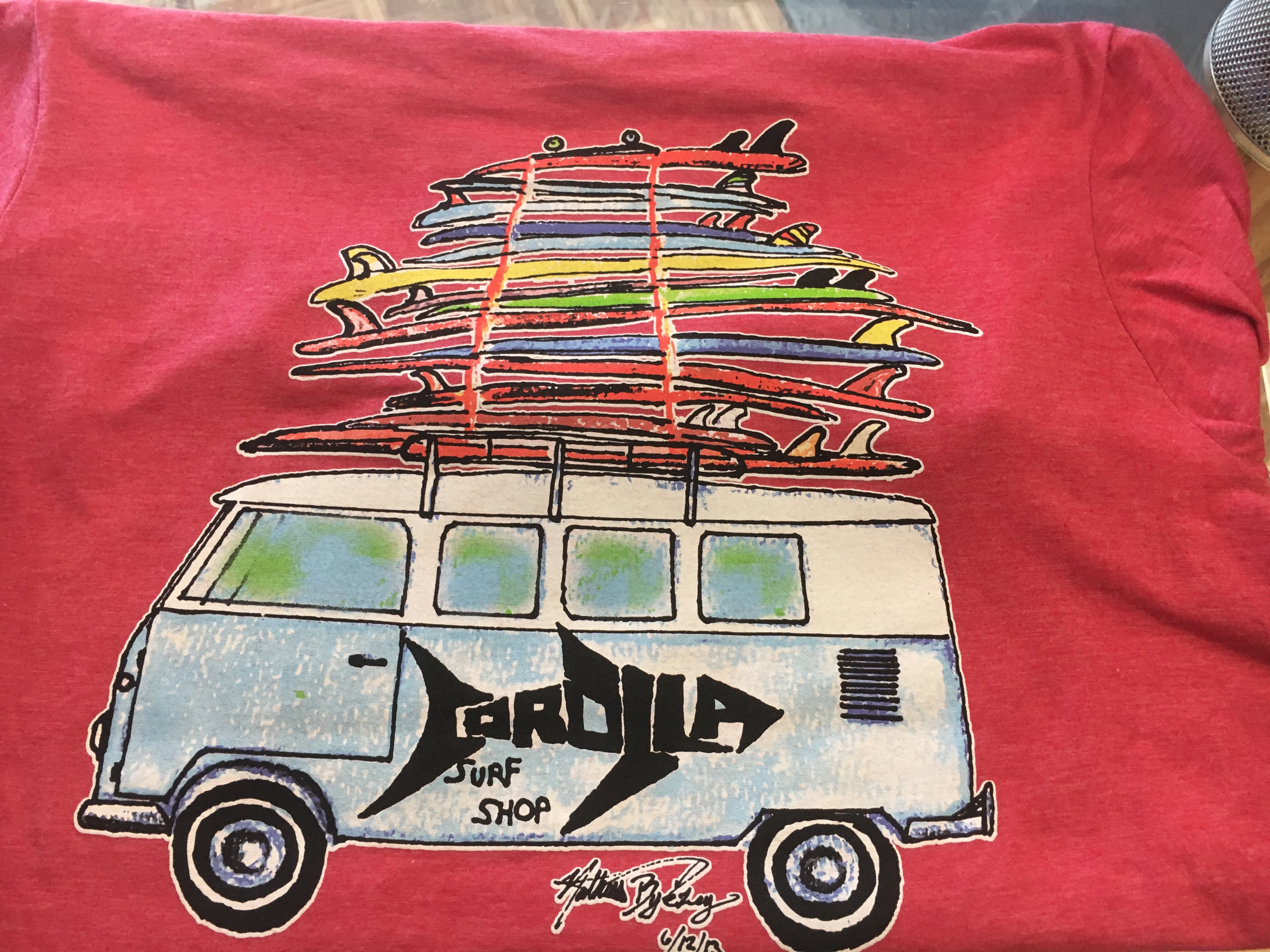 CSS VW Bus Heather Red 010001