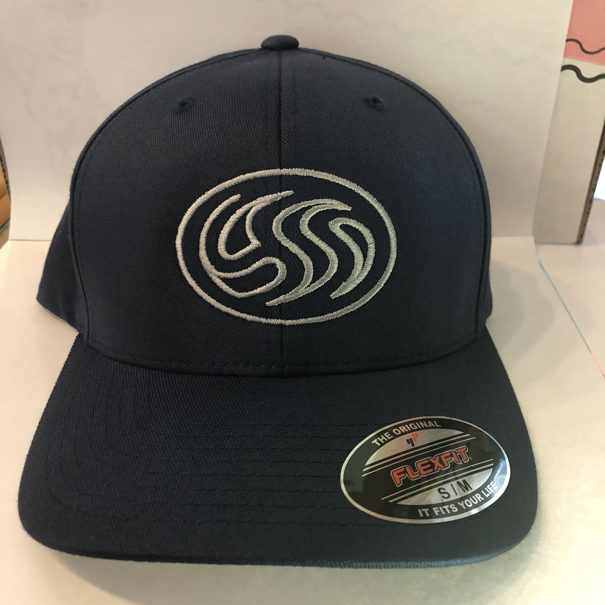 CSS Squash Flex Fit Hat (Navy) - S/M