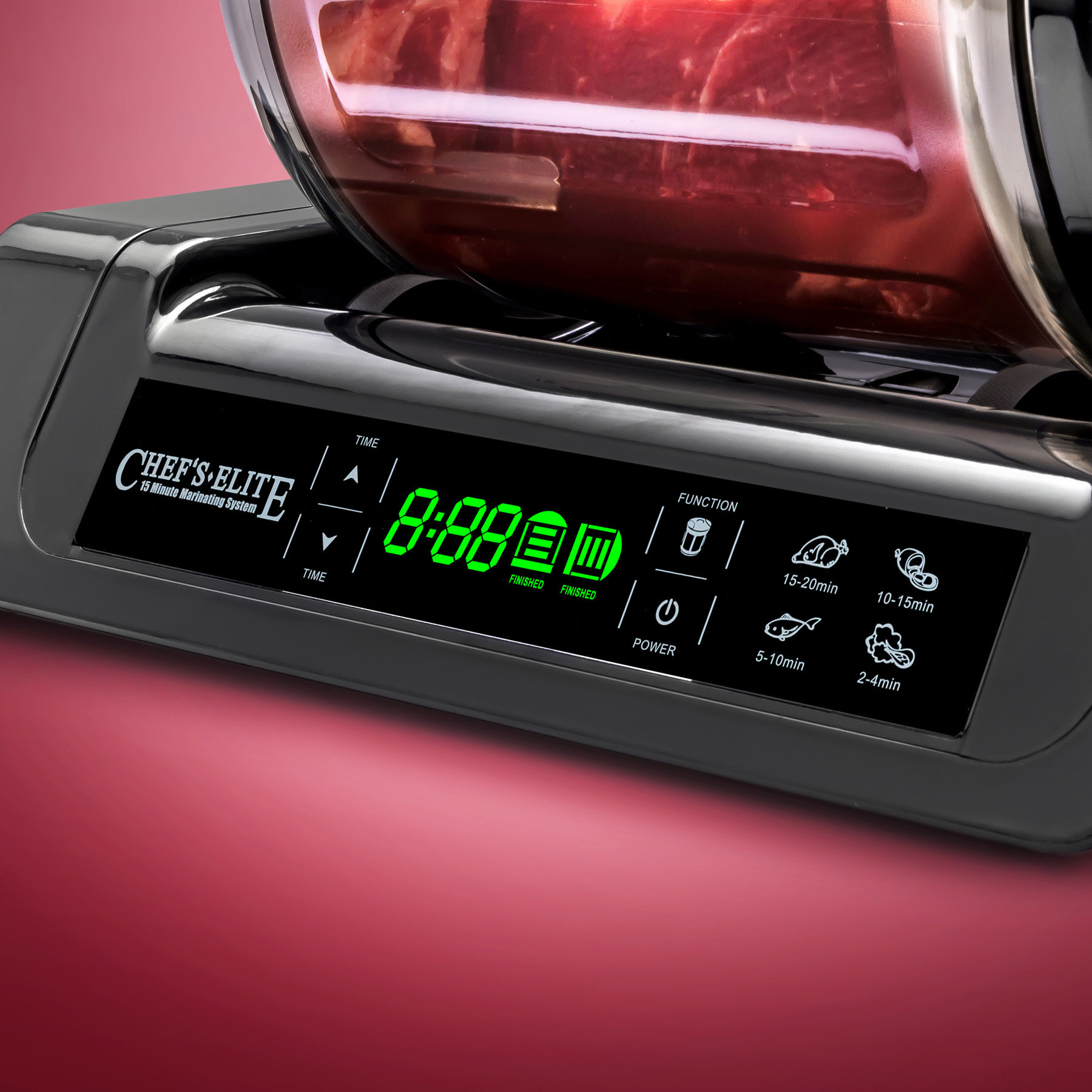 STX Chef's Elite 15 Minute Vacuum-Sealing & Marinating System