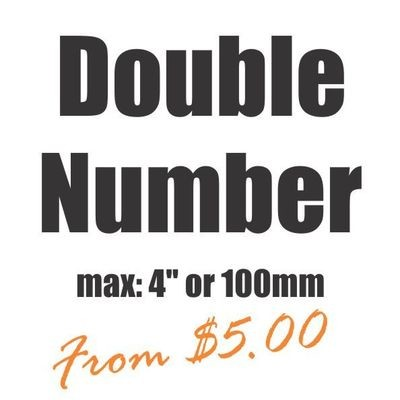 Small Double Number Vinyl Heat Transfer