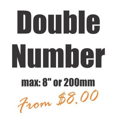 Large Double Number Vinyl Heat Transfer
