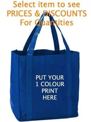 Non-woven Shopping Tote Bag Screen Printed (25)