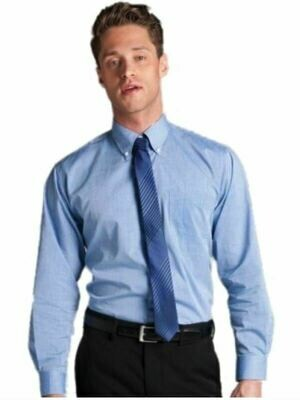 Long Sleeve Fine Chambray Shirt