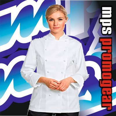 Ladies Chefs Jacket Long Sleeve