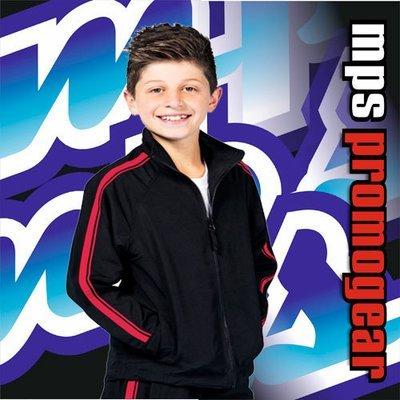 JB's Kids Dual Stripe Warmup Jacket