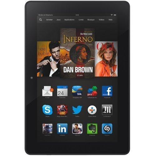 """Remplacement Ecran complet (Ecran + vitre tactile) Amazon Kindle Fire HDX 7"""""""