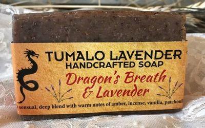 Dragon's Breath & Lavender Soap