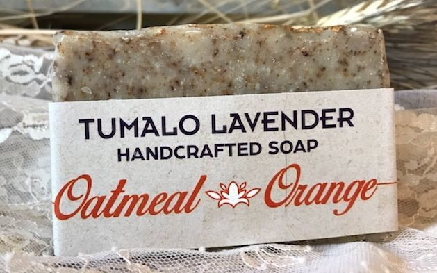 Oatmeal-Orange Soap