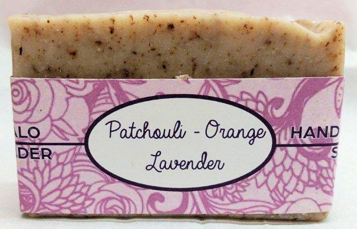 Patchouli-Orange Soap