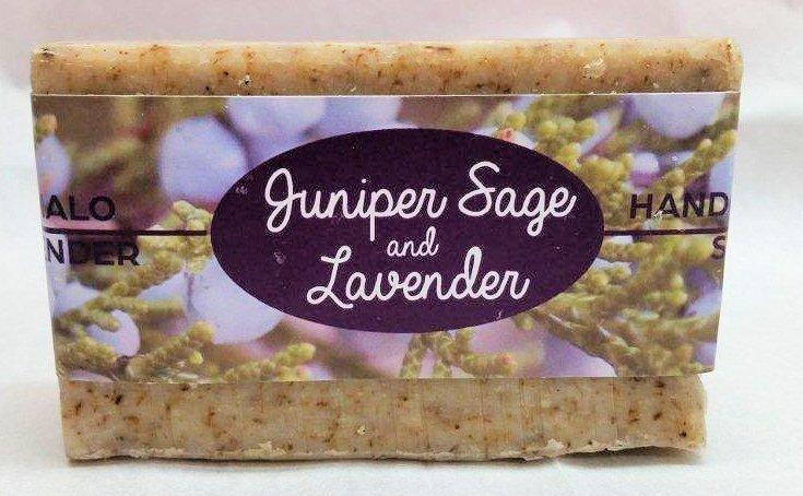 Juniper-Sage Lavender Soap