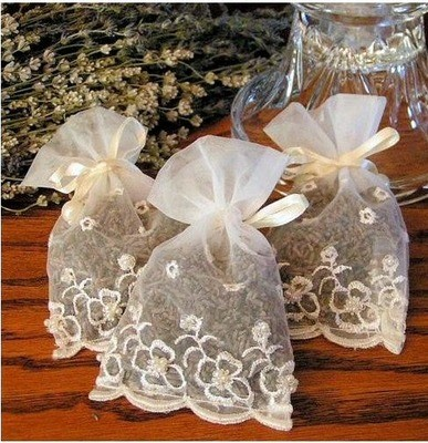 Small Wedding Sachet - Package of 6