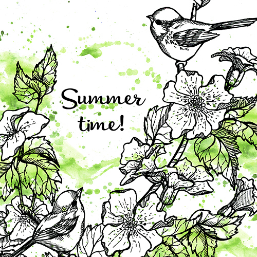 Summer time in green