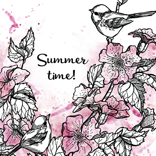 Summer time in pink