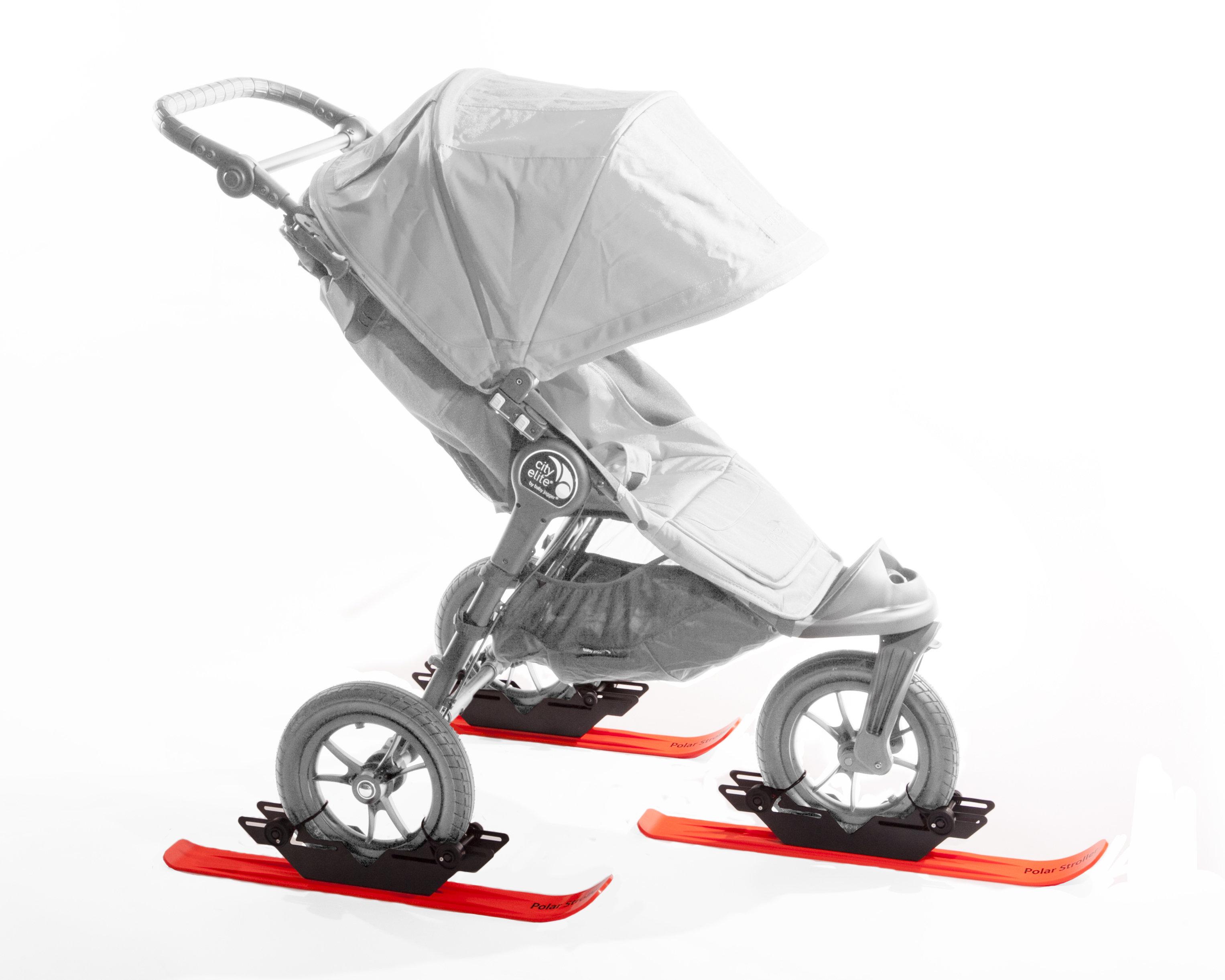 RX3 Polar Stroller Ski Set 00010