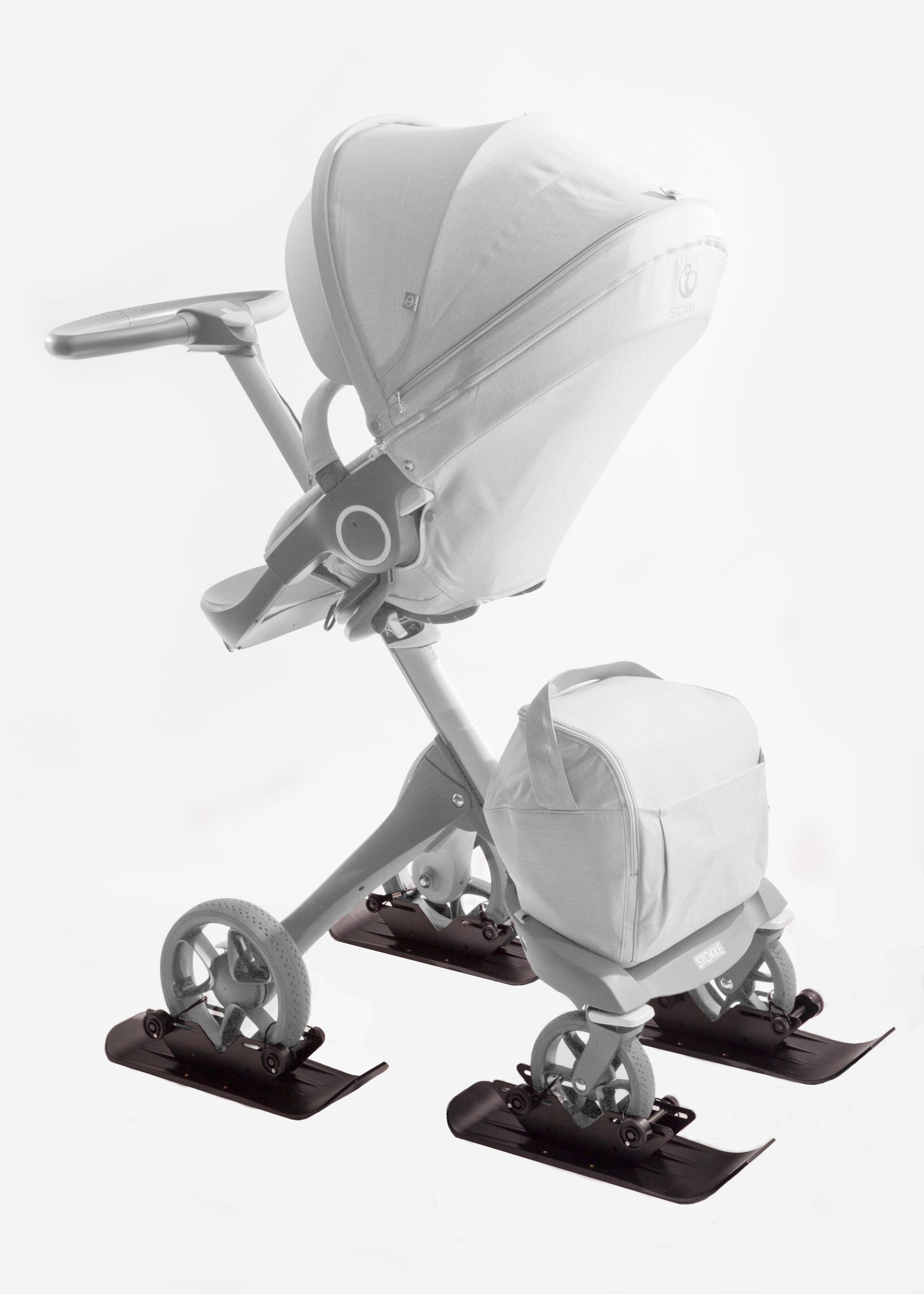 4X4 Polar Stroller Ski Set 00011