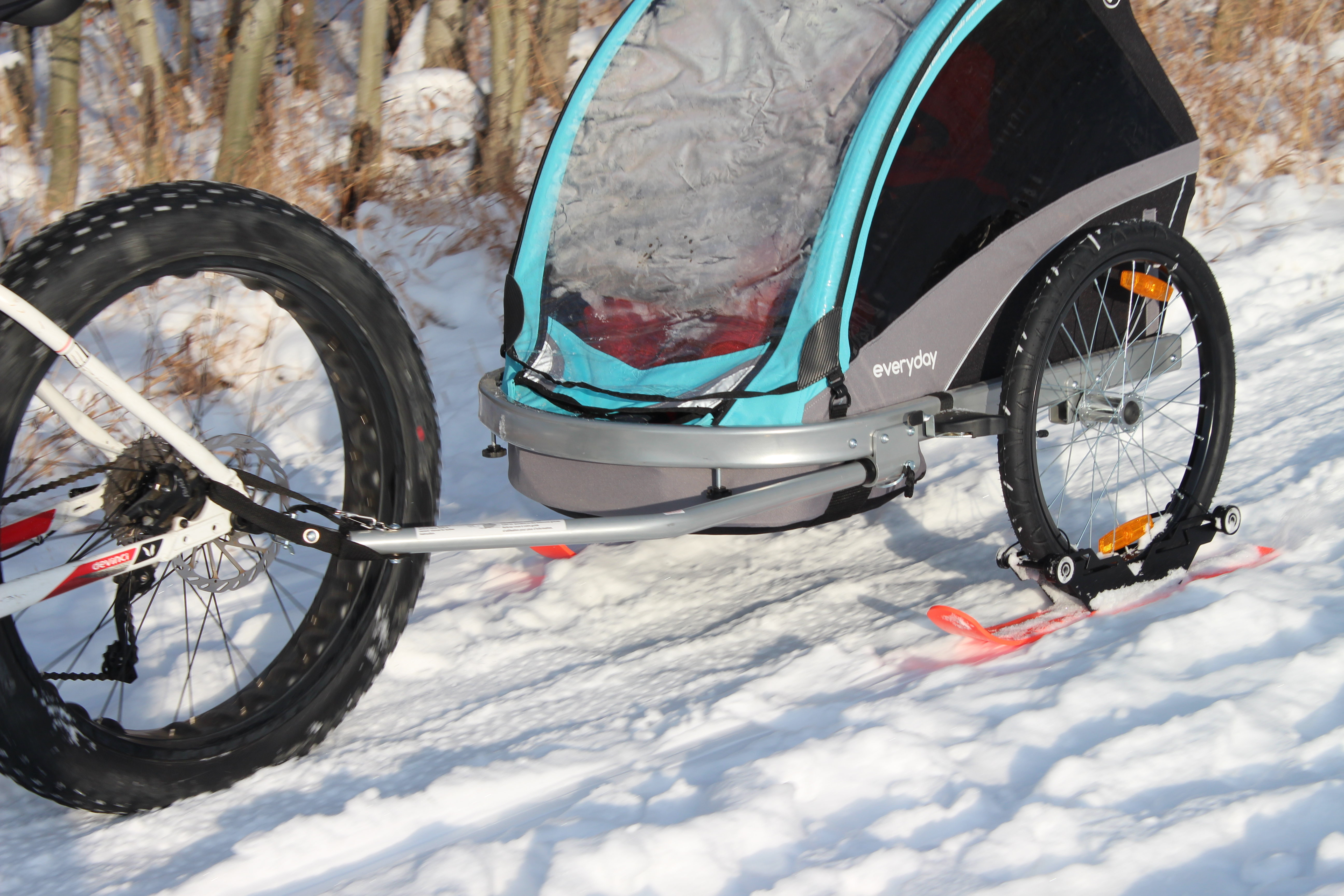INDIVIDUAL- RX3 Polar Stroller Ski