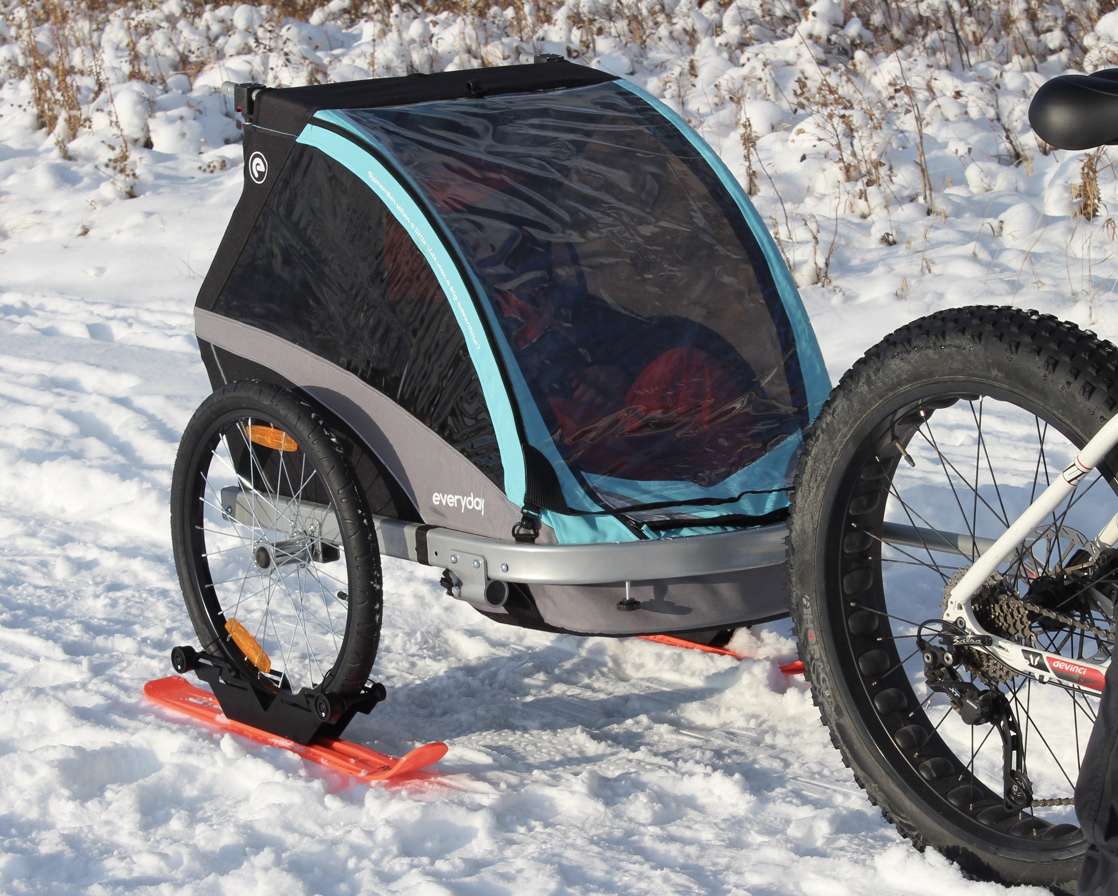 INDIVIDUAL- RX3 Polar Stroller Ski 00012