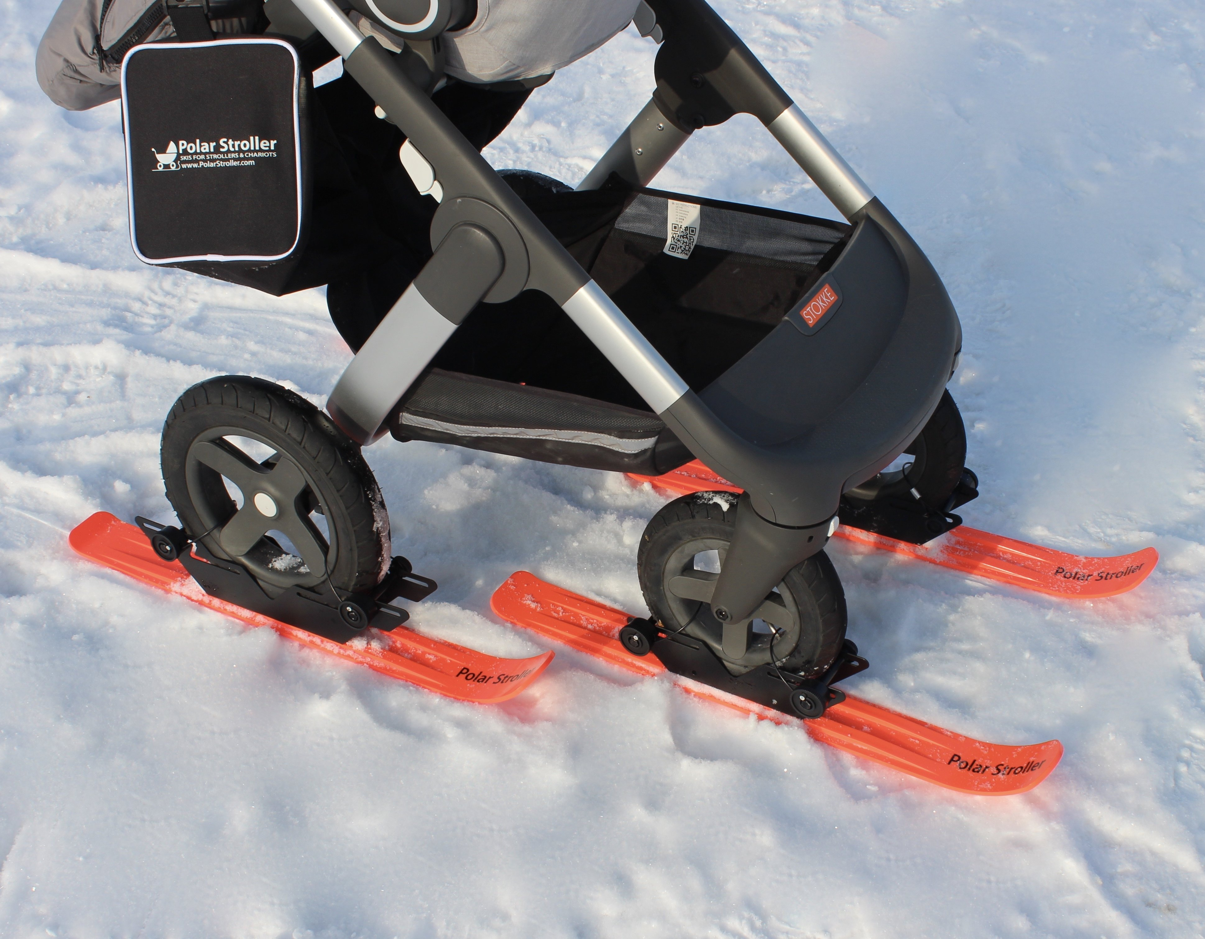 RX4 - 4 Wheel Polar Stroller Ski Set 00013