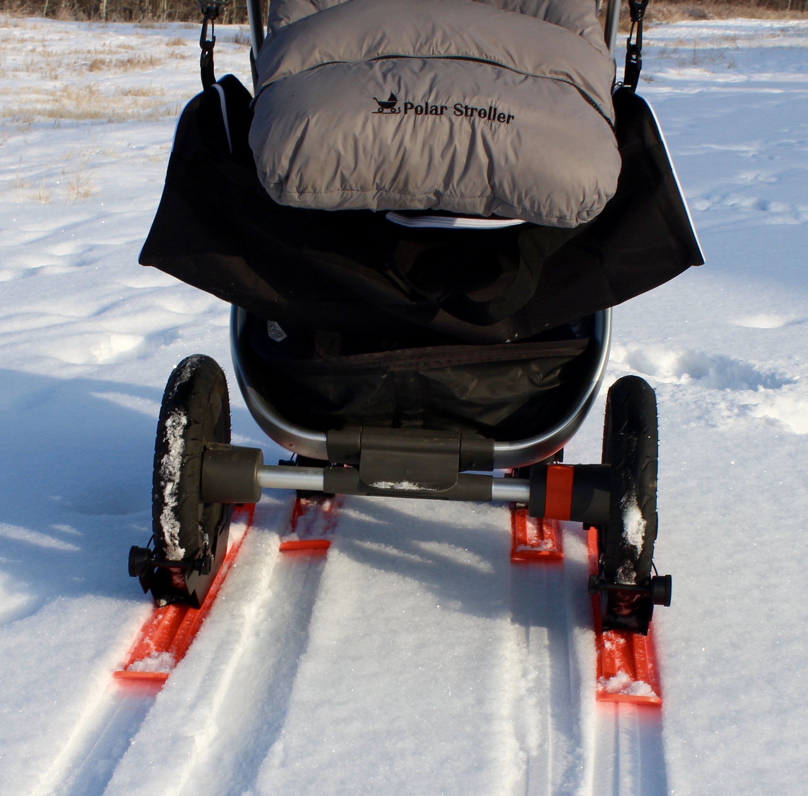 RX4 - 4 Wheel Polar Stroller Ski Set