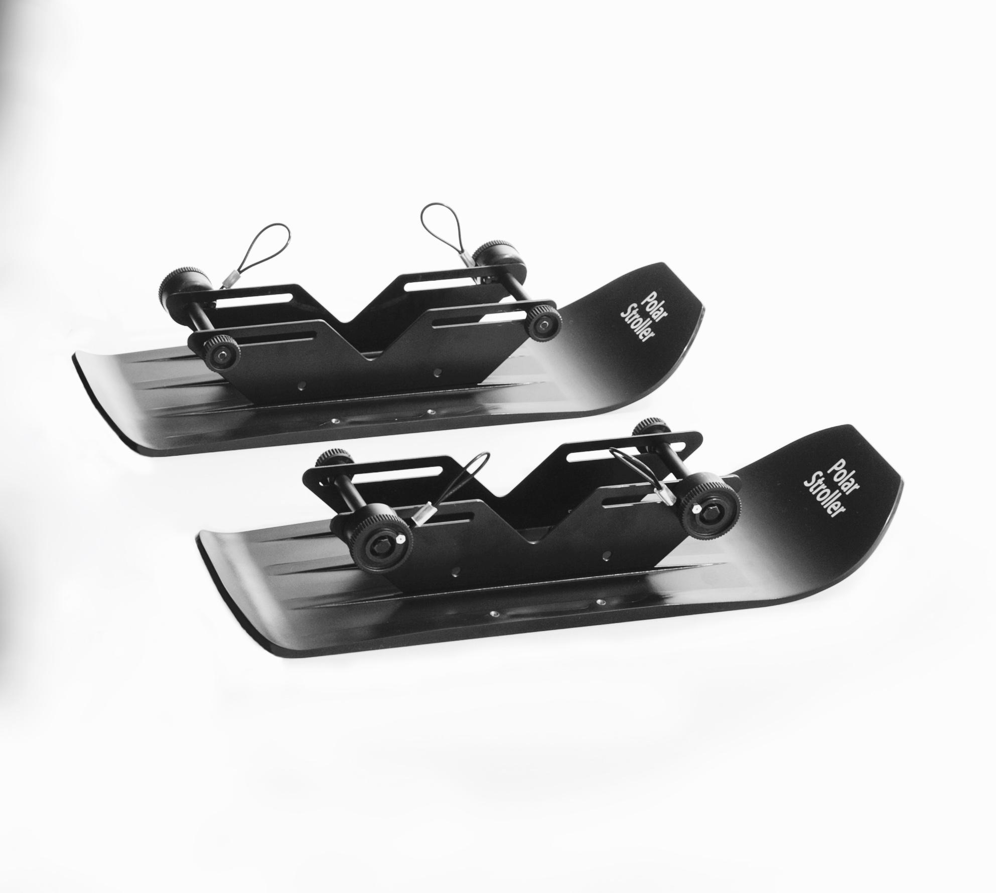 2 Set of 4X4 Polar Stroller Skis 00015