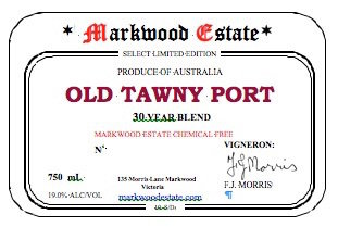 Old Tawny Port